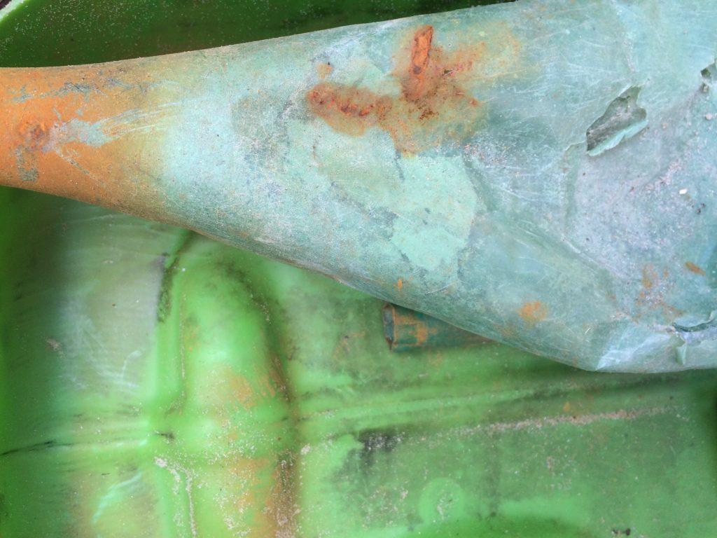 Groen plastic